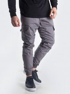 Jogger Cargo Label Grey