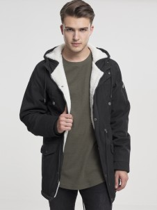 TB 1810 Canvas Cotton Parka Black