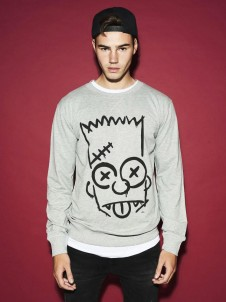 MC 275 Simpsons Graphity Grey