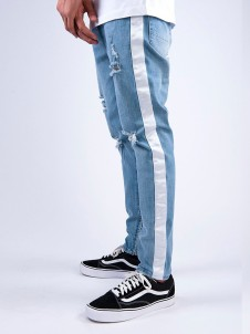 ALL DD Track Denim Light Blue