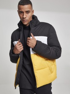 TB 2482 3 Tone Boxy Puffer Black/Yellow