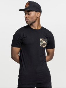TB 492 Camo Pocket Black