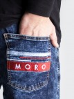 Moro Red Jogger Marble Blue
