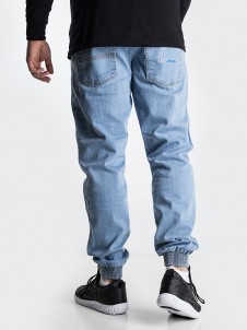 Moro Jeans Jogger Gym Light Blue