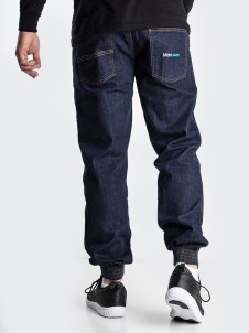 Moro Jeans Jogger Gym Mid Blue
