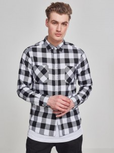 Checked Flanell TB 297 Black/White