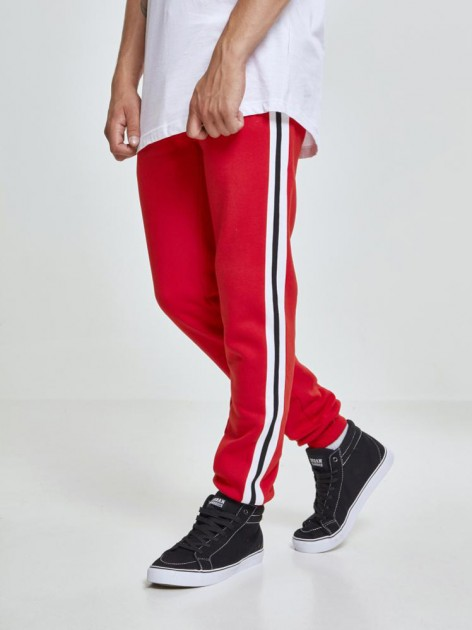 TB 2393 3-Tone Side Stripe Red