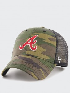 Atlanta Braves MVP Trucker Camo
