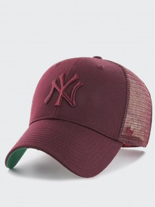 New York Yankees MVP Trucker Dark Maroon