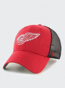Detroit Red Wings MVP Trucker Red/Black