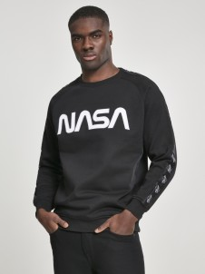 MT 862 NASA Worm Logo Rocket Tape Black