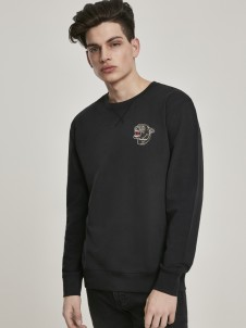 MT 799 Embroidered Panther Black