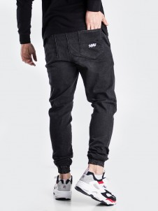Jogger Jeans Black Washed