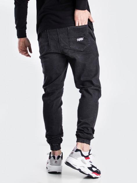 Jogger Jeans Black Washed