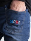 Moro Color Pocket Wipped Blue